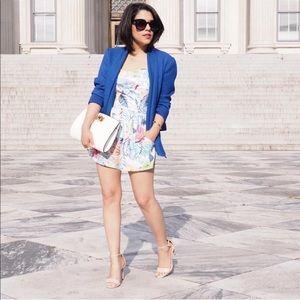Jackets & Blazers - BLUE OPEN FRONT BLAZER